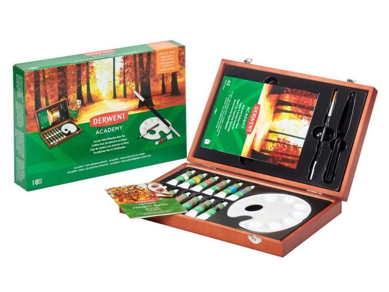 Набор для рисования акриловыми красками Derwent Academy 2305674