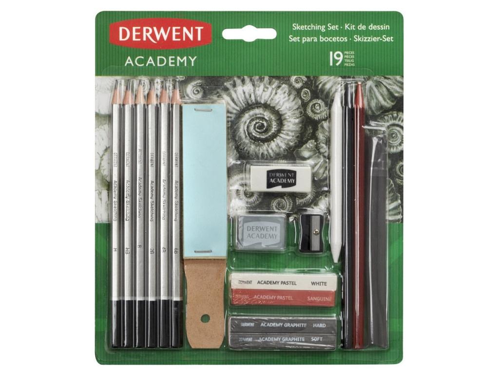 Набор для рисования скетчей Derwent Academy Sketching Set 2300365