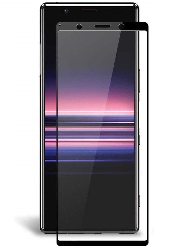 Защитное стекло Ainy для Sony Xperia 5 0.25mm Full Screen Full Glue Cover Black AF-SA1875A