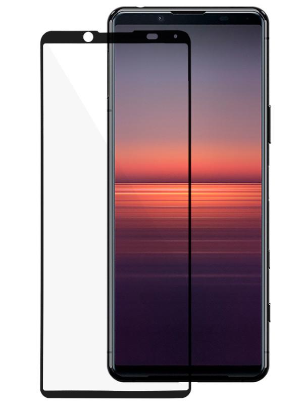 Защитное стекло Ainy для Sony Xperia 5ii 0.25mm Full Screen Cover Black AF-SA1876A