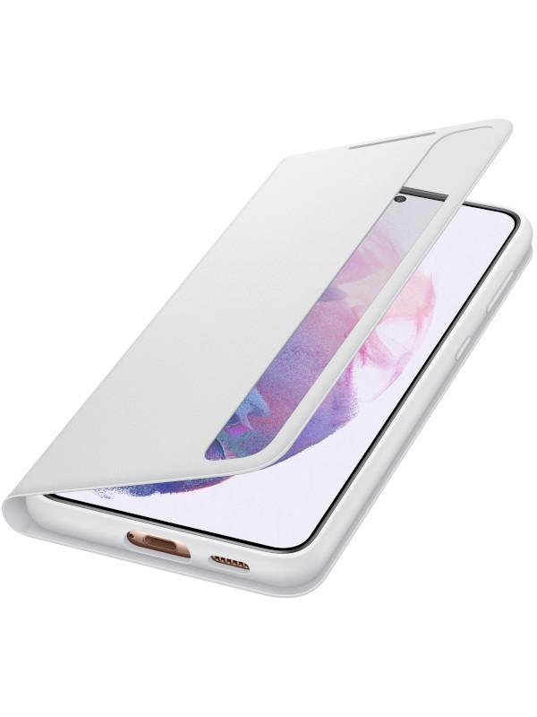 Чехол для Samsung Galaxy S21 Plus Smart Clear View Cover Light Grey EF-ZG996CJEGRU