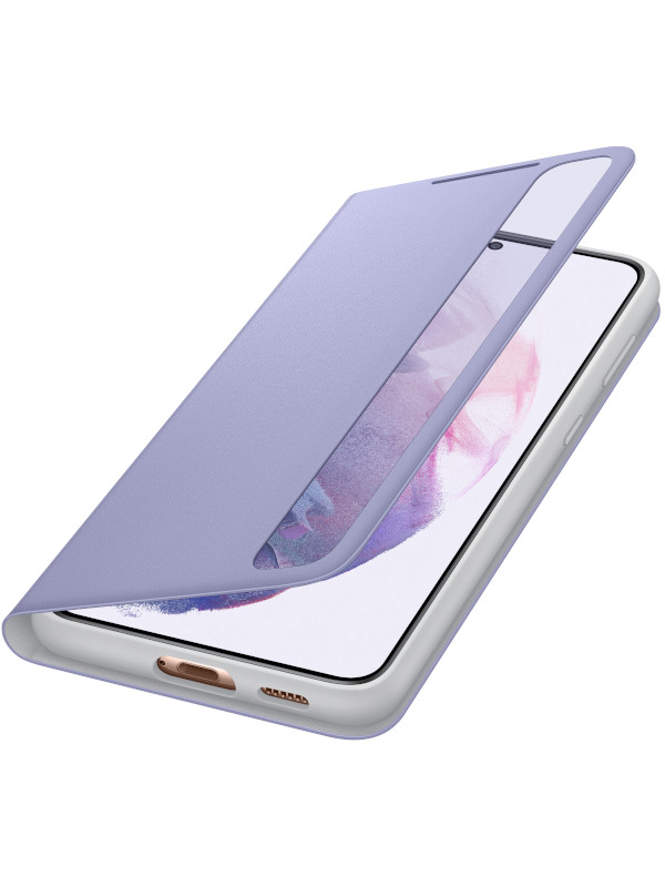Чехол для Samsung Galaxy S21 Plus Smart Clear View Cover Violet EF-ZG996CVEGRU