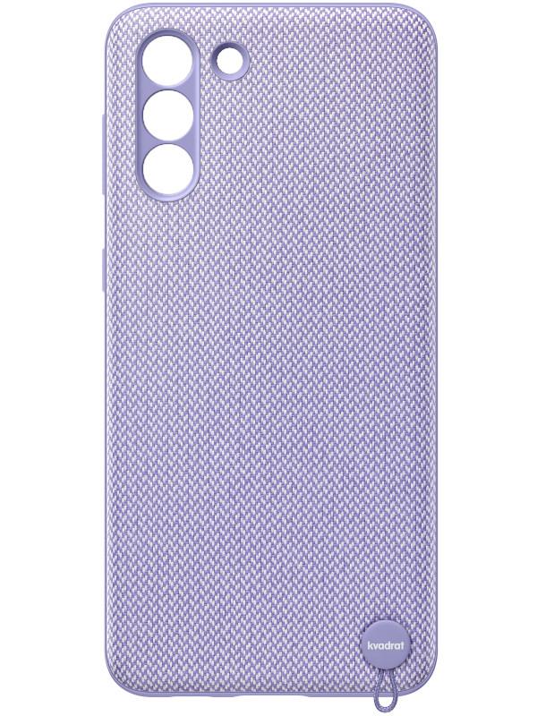 Чехол для Samsung Galaxy S21 Plus Kvadrat Cover Violet EF-XG996FVEGRU