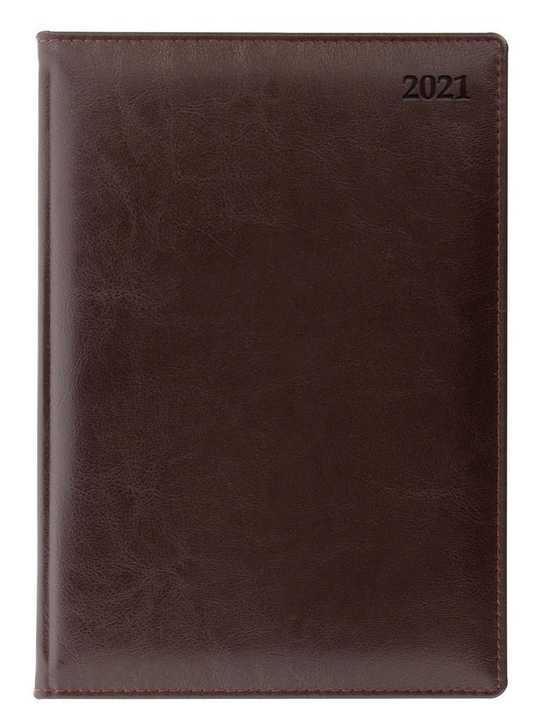 Ежедневник Letts Global Deluxe A5 натуральная кожа Burgundy 822930