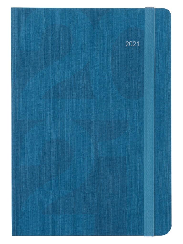 Ежедневник Letts Block A5 Turquoise 1136581