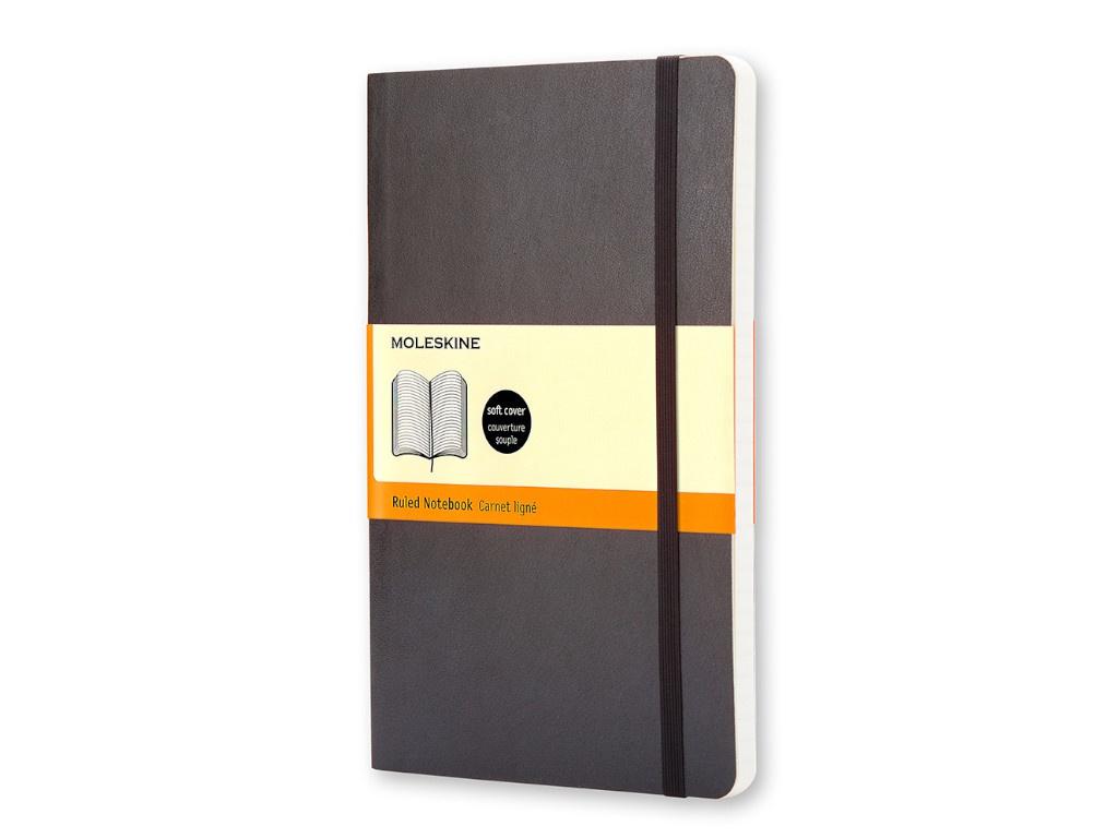 Блокнот Moleskine Classic Soft Large 130х210mm 96 листов Black QP616 / 385249