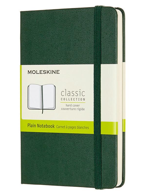 Блокнот Moleskine Classic Pocket 90x140mm 96 листов Green QP012K15 / 1127929