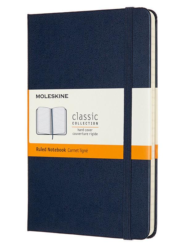 Блокнот Moleskine Classic Medium 115x180mm 120 листов Blue QP050B20 / 1127881
