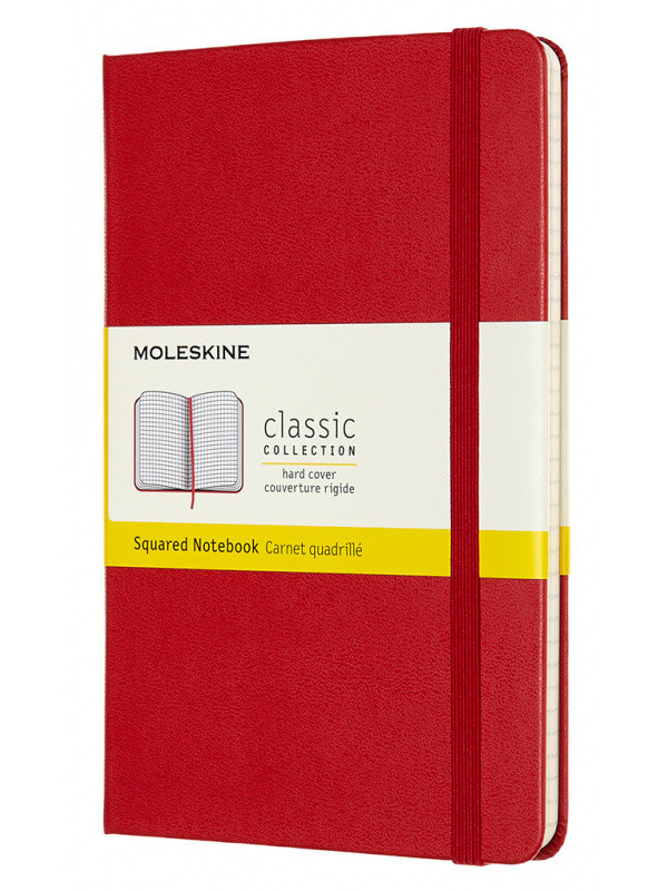 Блокнот Moleskine Classic Medium 115x180mm 120 листов Red QP051F2 / 1127876
