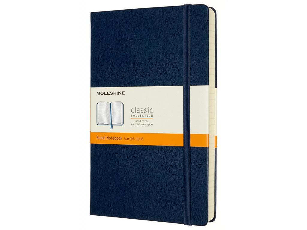 Блокнот Moleskine Classic Expended Large 130х210mm 200 листов Sapphire Blue QP060EXPB20 / 1214844