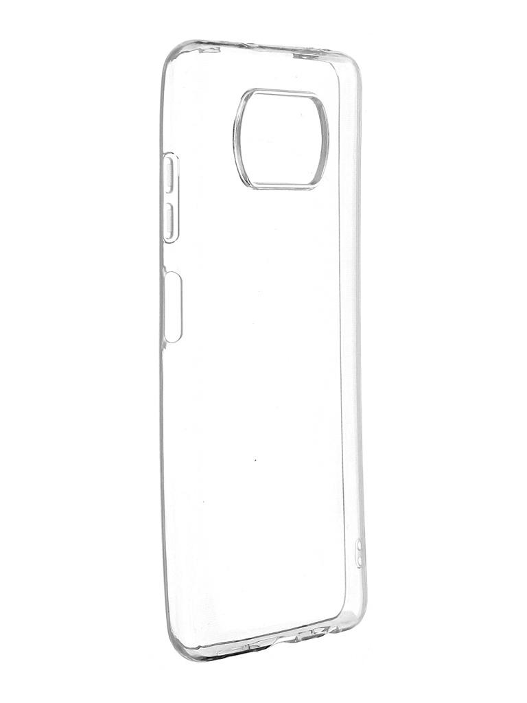 Чехол Zibelino для Poco X3 Ultra Thin Case Transparent ZUTC-XMI-X3-WHT