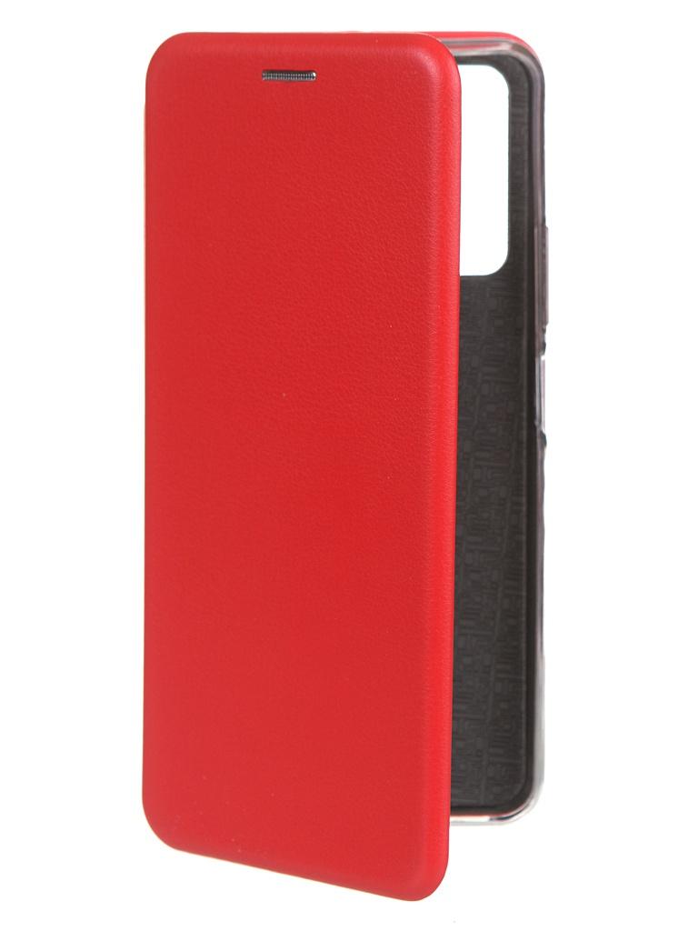 Чехол Zibelino для Honor 10X Lite Book Red ZB-HUW-10X-LT-RED