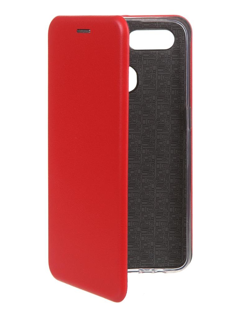 Чехол Zibelino для Oppo A12 Book Red ZB-OP-A12-RED