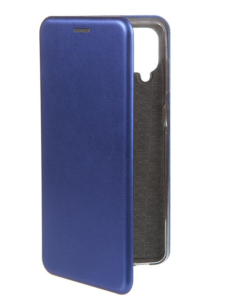 Чехол Zibelino для Samsung A12 Book Blue ZB-SAM-A12-BLU