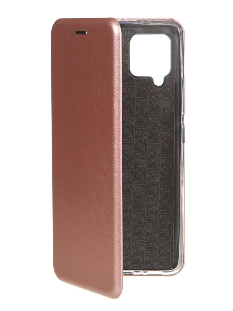Чехол Innovation для Samsung Galaxy A42 Book Rose Gold 19568