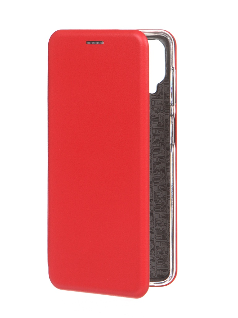 Чехол Innovation для Samsung Galaxy A12 Book Red 19564