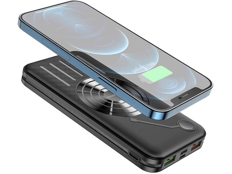 Внешний аккумулятор Borofone Power Bank BJ7 Prospect 10000mAh Black