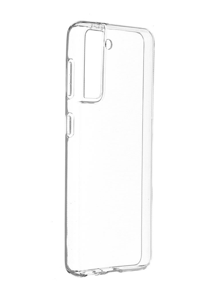 Чехол-накладка Brosco для Samsung Galaxy S21 SS-S21-TPU-TRANSPARENT