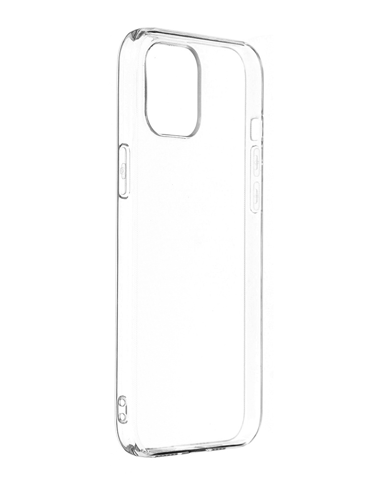 Чехол Svekla для APPLE iPhone 12 Pro Max Silicone Transparent SV-AP12PROM-WH