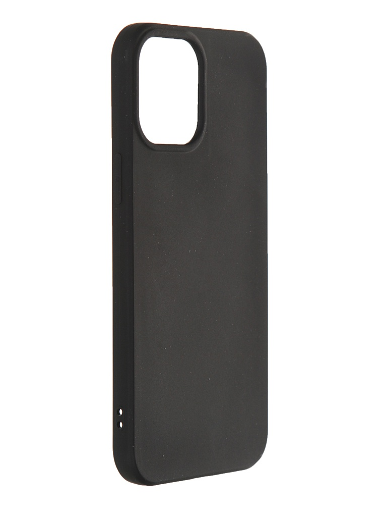 Чехол Svekla для APPLE iPhone 12 Pro Max Silicone Black SV-AP12PROM-MBL