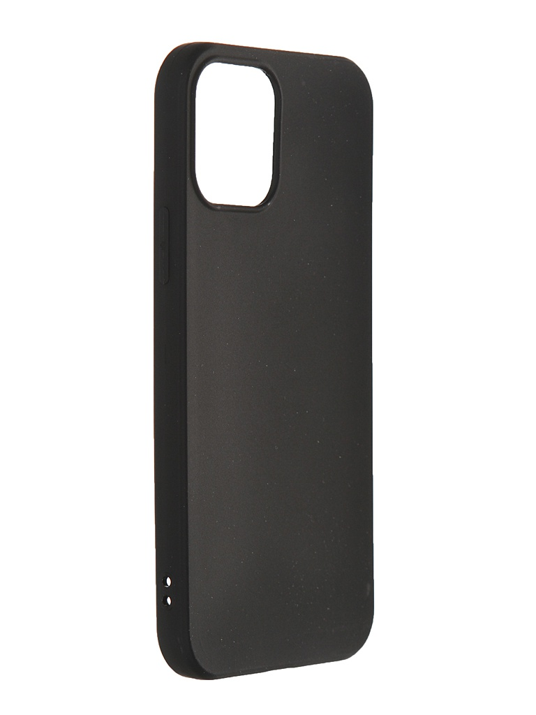 Чехол Svekla для APPLE iPhone 12/12 Pro Silicone Black SV-AP12PRO-MBL