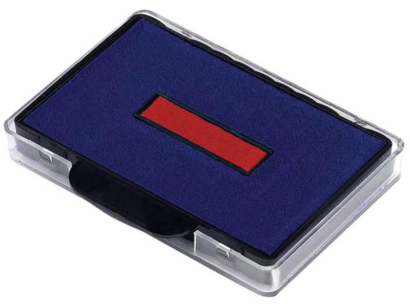 Штемпельная подушка Trodat 56х33mm для 5460/5465 Blue-Red 72809