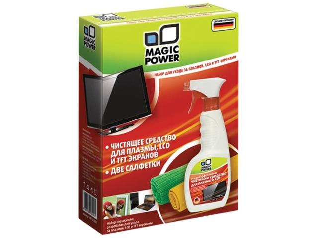 Набор Magic Power MP-21030 для ухода за плазмой, LCD и TFT экранами