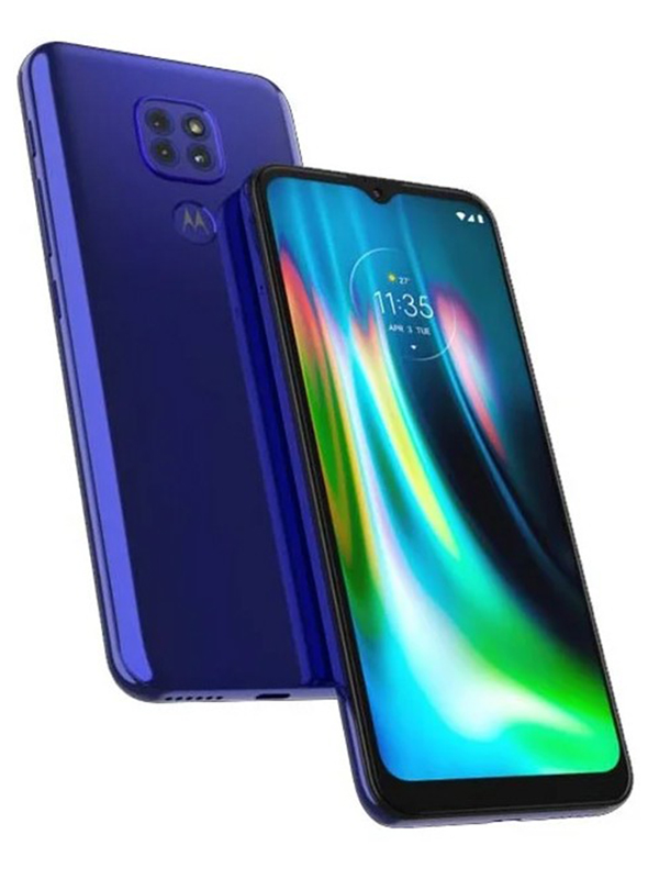 Сотовый телефон Motorola Moto G9 Play 64GB Dual Sim Sapphire Blue