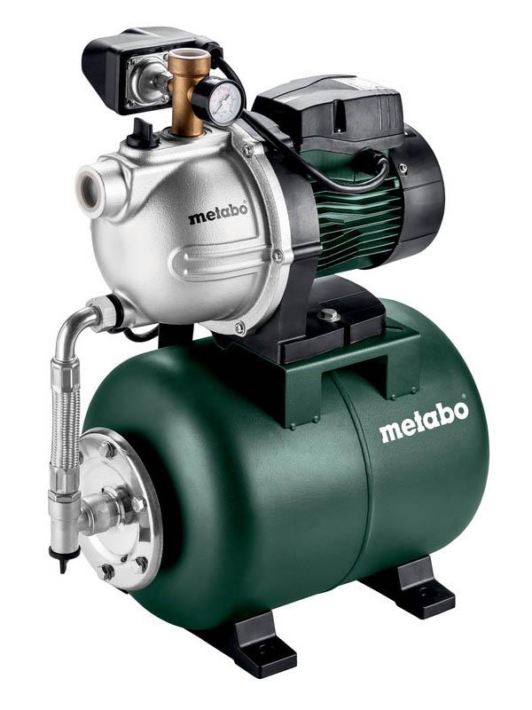 Насосная станция Metabo HWW3500/25G 24L 600981000 насосная станция metabo hww3500 25inox 900вт 600969000