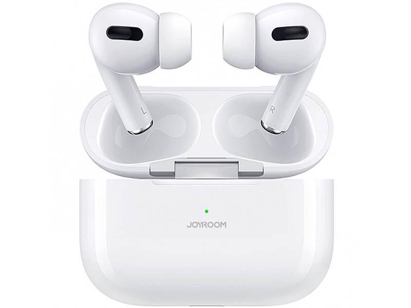 Фото - Наушники JoyRoom JR-T03 Pro Bilateral Earbuds White чехол joyroom jr bp598 для apple airpods pro red