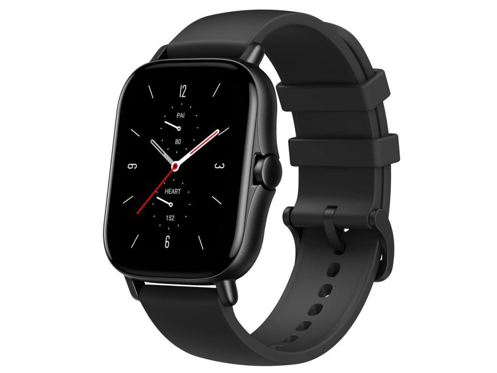 Умные часы Xiaomi Amazfit A2021 GTS 2e Black Выгодный набор + серт. 200Р!!! умные часы huawei watch gt 2e hector b19c 46mm black mint 55025294 выгодный набор серт 200р