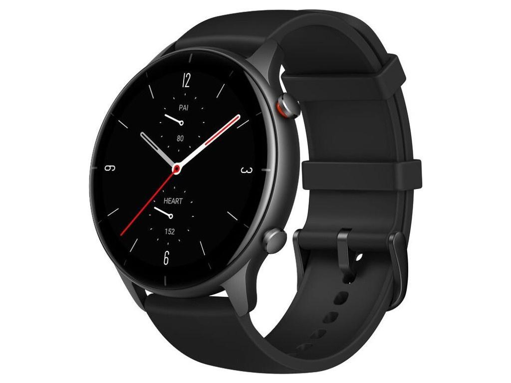 Умные часы Xiaomi Amazfit A2023 GTR 2e Black Выгодный набор + серт. 200Р!!! умные часы huawei watch gt 2e hector b19c 46mm black mint 55025294 выгодный набор серт 200р