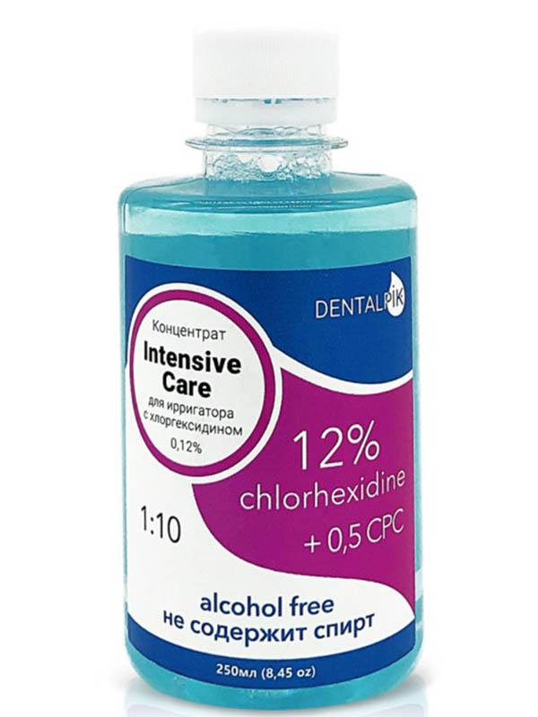 Жидкость для ирригатора Dentalpik Intensive Care с хлоргексидином 0.12% 250ml