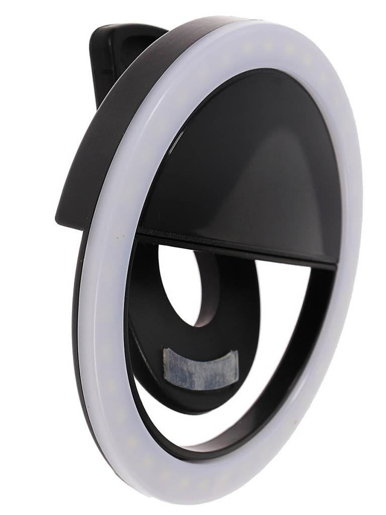 Кольцевая лампа Luazon AKS-06 Black 4090261