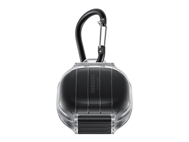 Чехол Samsung для Buds Pro Live Water Resistant Cover Transparent-Black EF-PR190CBEGRU