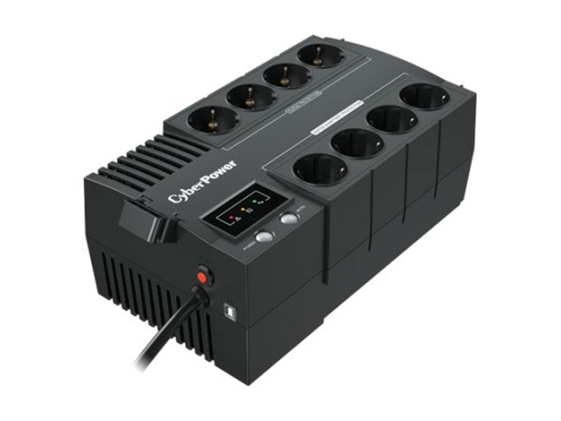 Источник бесперебойного питания CyberPower Line-Interactive 450VA 270W BS450E New