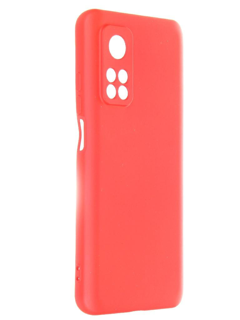 Чехол Krutoff для Xiaomi Mi 10T / Pro Silicone Red 12462