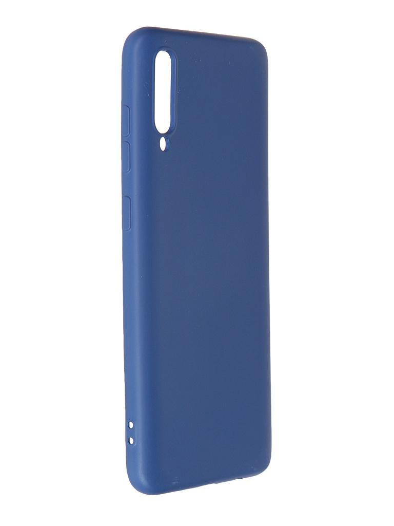 Чехол Krutoff для Samsung Galaxy A70 A705 Silicone Blue 12416