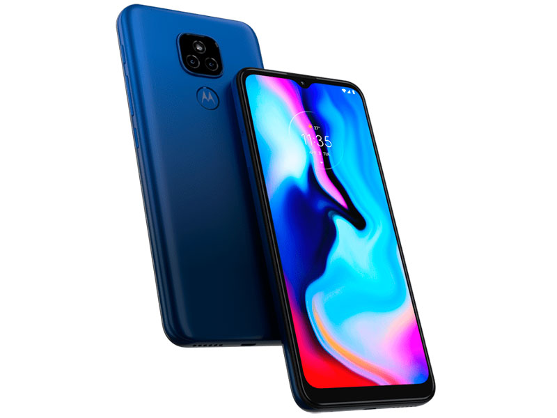 Сотовый телефон Motorola Moto E7 Plus 4/64Gb Blue