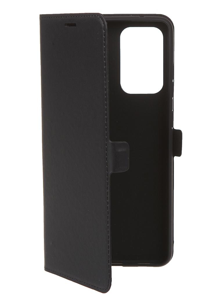 Чехол Krutoff для Samsung Galaxy A72 (A725) Eco Book Black 12579