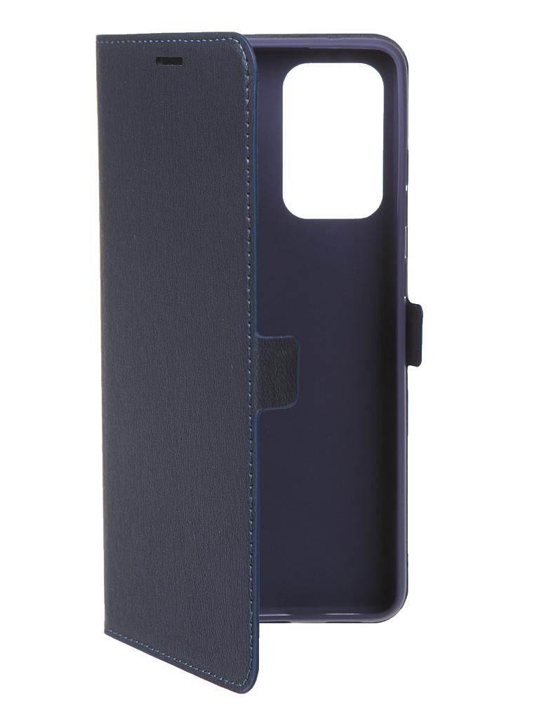 Чехол Krutoff для Samsung Galaxy A72 (A725) Eco Book Blue 12575