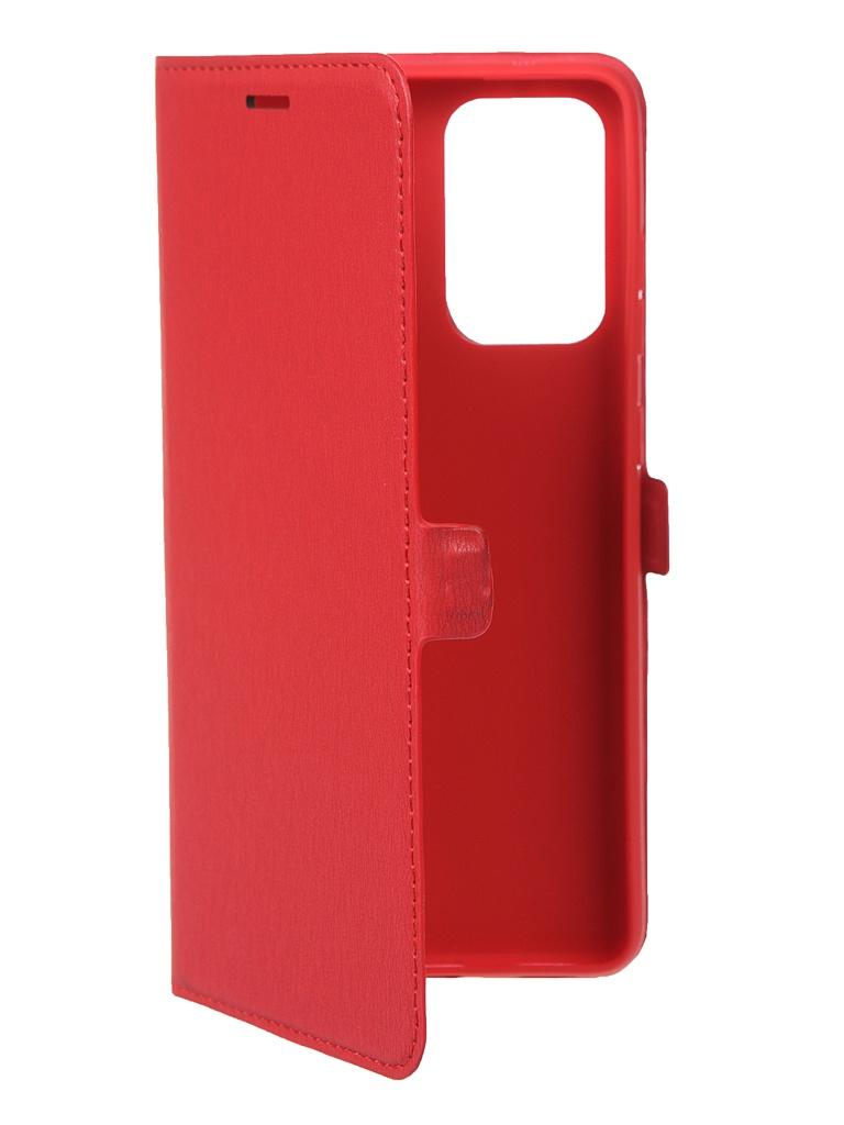 Чехол Krutoff для Samsung Galaxy A72 (A725) Eco Book Red 12572