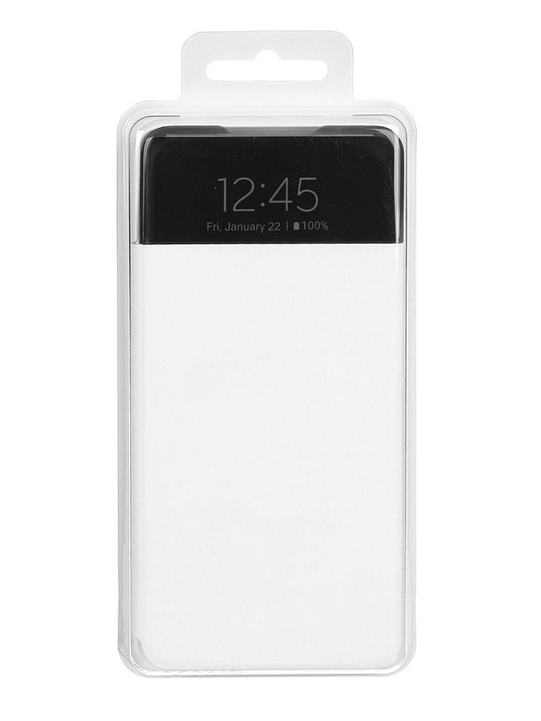 Чехол-книжка для Samsung Galaxy A52 Smart S View Wallet Cover White EF-EA525PWEGRU