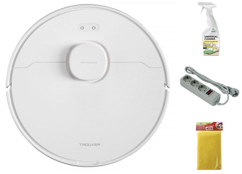 Робот-пылесос Xiaomi Trouver Robot LDS Vacuum-Mop Finder Выгодный набор + серт. 200Р!!!