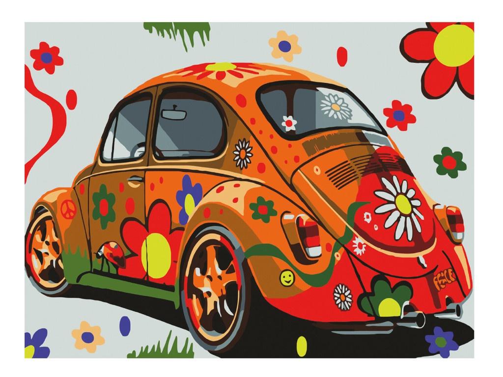Картина по номерам Остров Сокровищ Автомобиль 662497