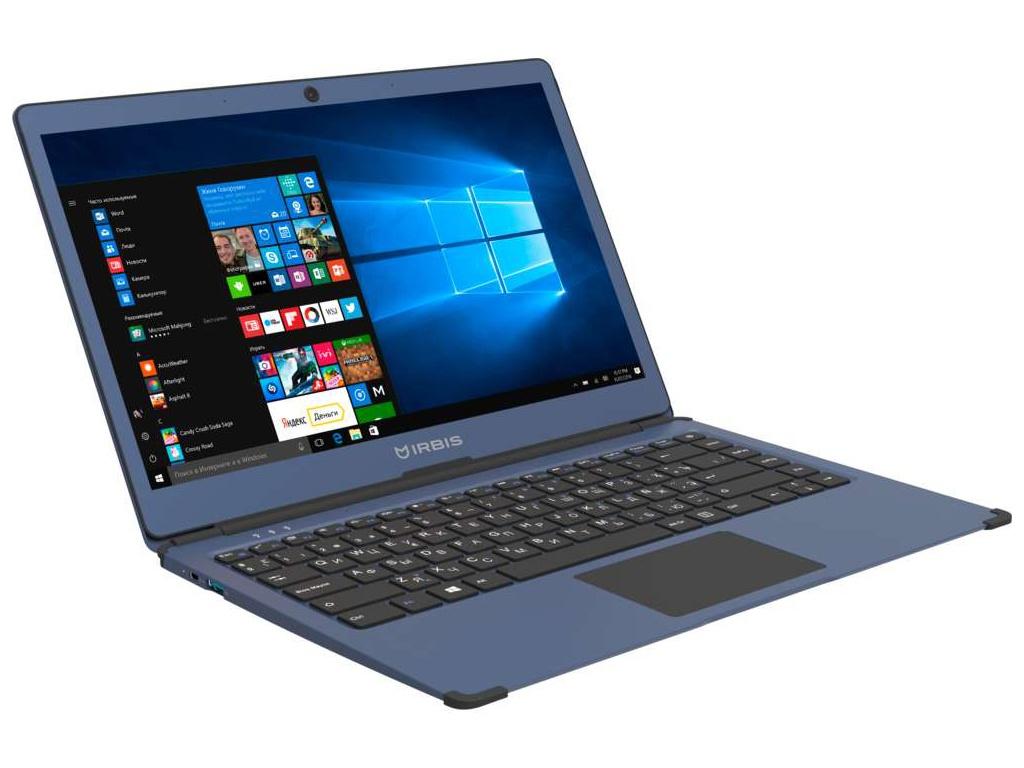 Ноутбук Irbis NB550 Blue (Intel Celeron N3350 1.1GHz/3072Mb/32Gb/No ODD/Intel HD Graphics/Wi-Fi/Bluetooth/Cam/13.3/1920x1080/Windows 10)