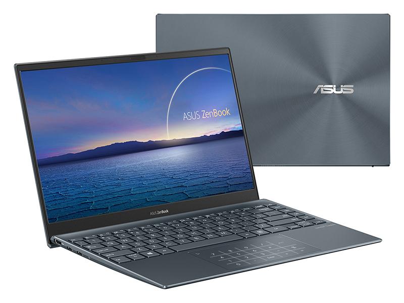 Ноутбук ASUS Zenbook 14 BX435EAL-KC074R Pine Grey 90NB0S91-M01330 (Intel Core i5-1135G7 2.4GHz/8192Mb/512Gb SSD/Intel Iris Xe graphics/Wi-Fi/14.0/1920x1080/Windows 10)
