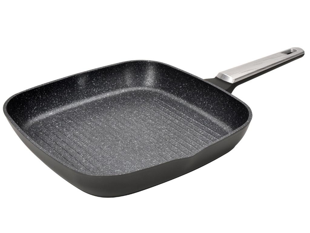 Сковорода Regent Inox Linea Monti 28x28х4.3cm 93-AL-MN-6-28