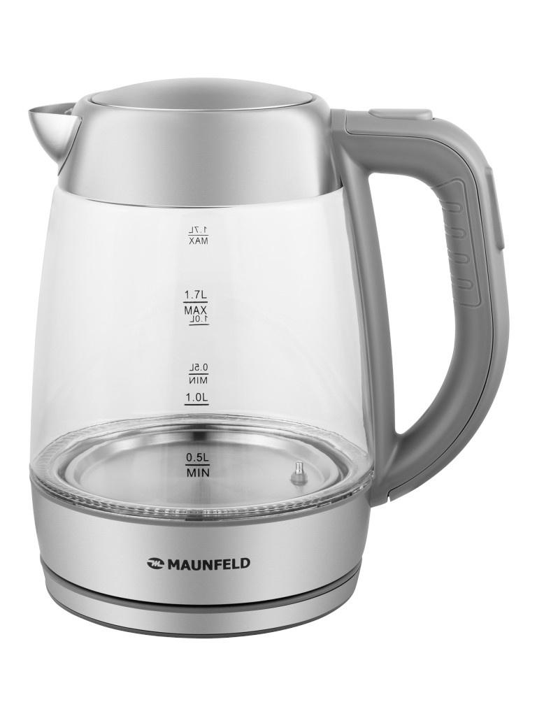 Фото - Чайник Maunfeld MFK-611G 1.7L чайник электрический maunfeld mfk 622ch
