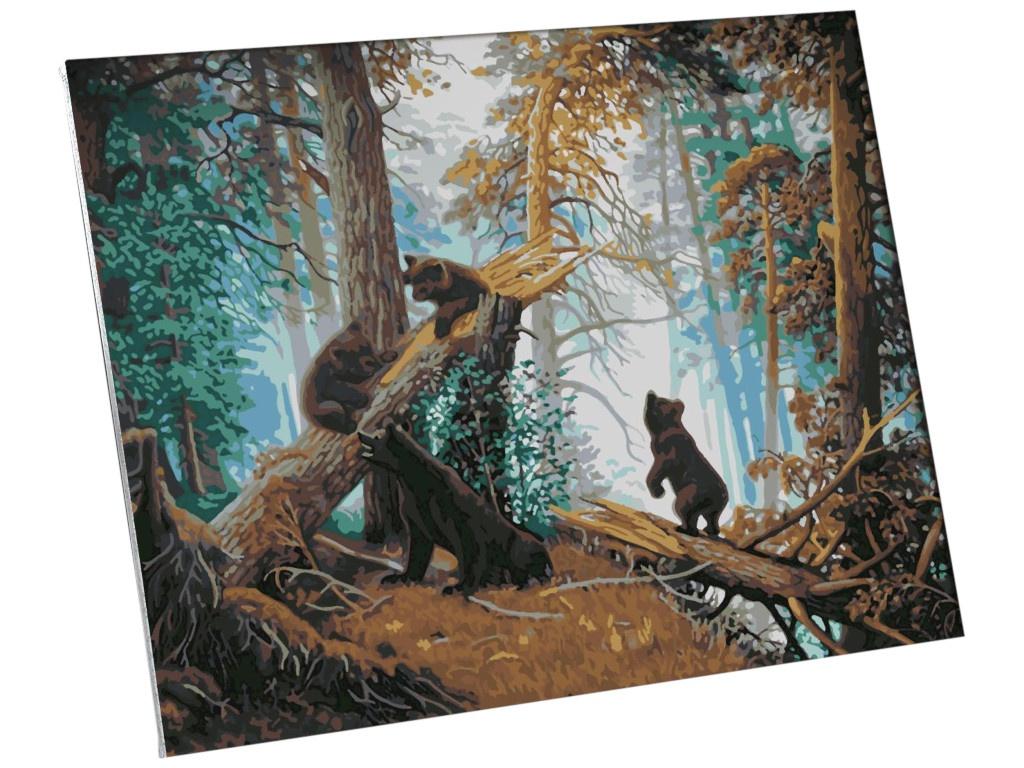Картина по номерам Школа талантов Утро в сосновом лесу И.И.Шишкин, К.А.Савицкий 40x50cm 5135016